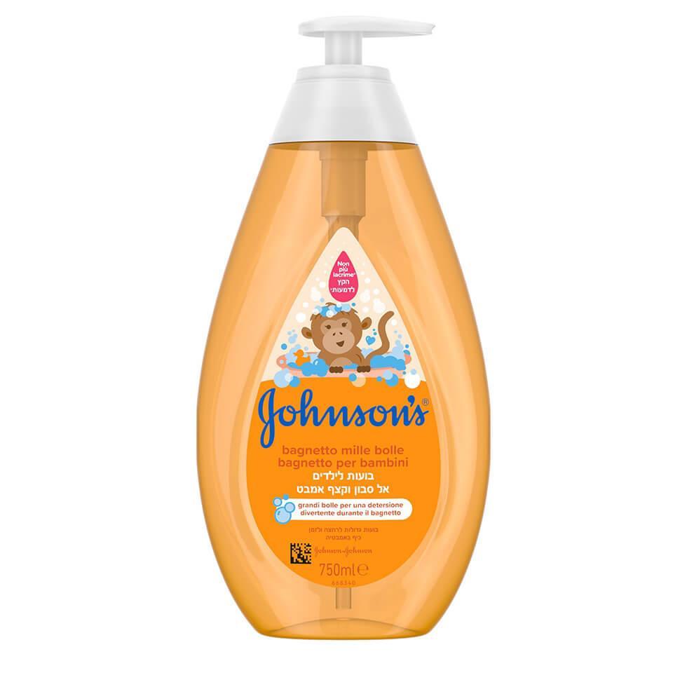 Johnson's® kupka i gel sa mehurićima za tuširanje dece