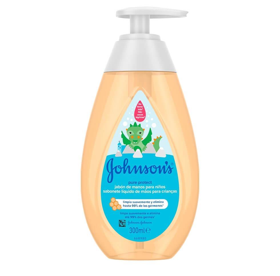 Johnson's® Pure Protect tečni sapun za pranje ruku dece
