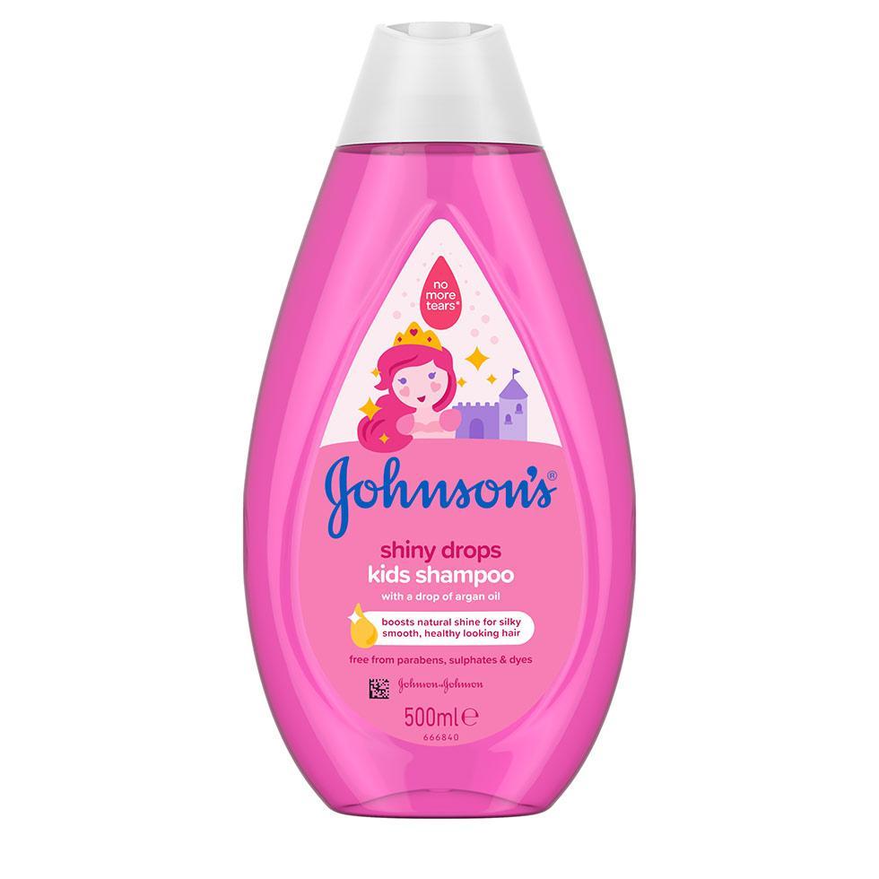 Johnson's Shiny Drops детски шампоан за блясък