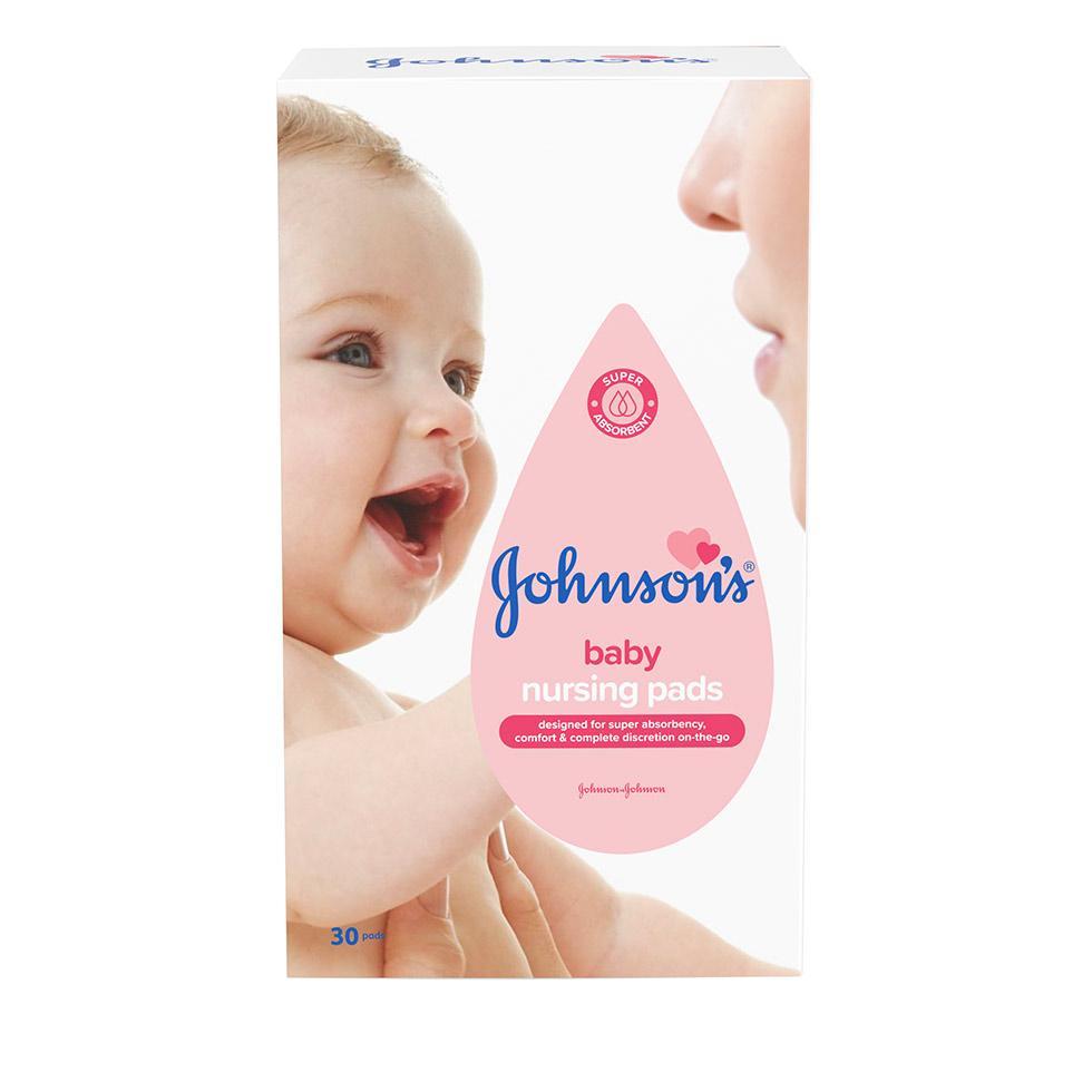 Johnson's подплънки за кърмачки за еднократна употреба